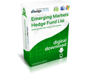 List of emerging market hedge fund managers