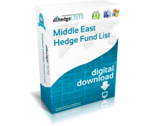 Lst of hedge funds in Middle East