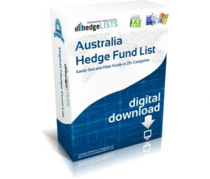 Australia Hedge Fund List