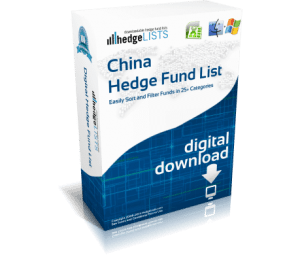 China Hedge Fund List