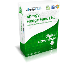 Energy Hedge Fund List