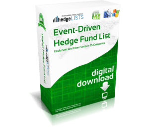 Event-Driven Hedge Fund List