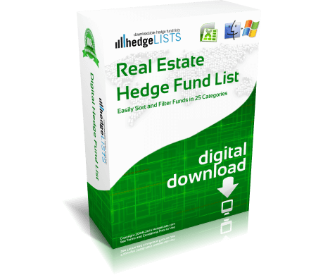 List of Real Estate Hedge Funds