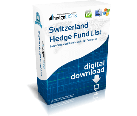 List of hedge funds in Switzerland