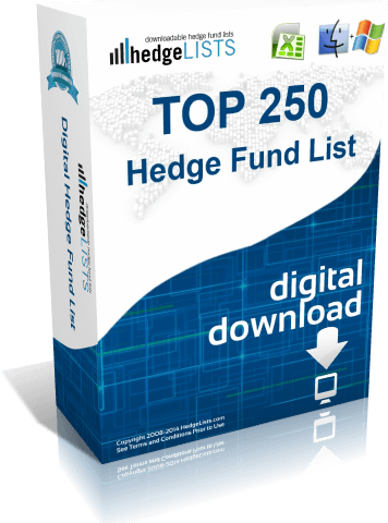 Top 250 Hedge Fund Managers - Excel format