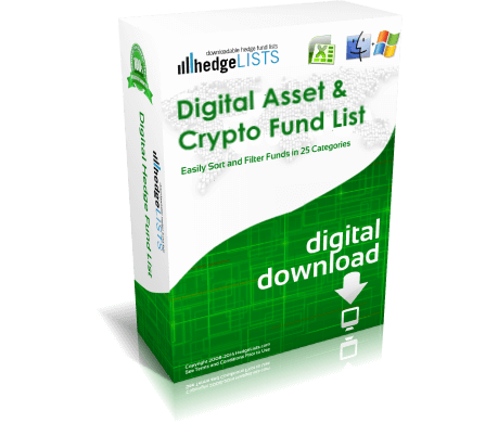List of crypto funds (hedge funds and venture capital)